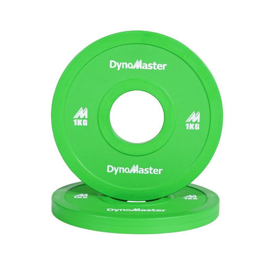 Bild von DynoMaster 1kg Gewichtsscheibe - Fractional Plate - 1 Paar